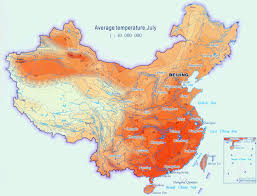 China In Map Of World by Your Guide To China Temperature