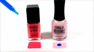 halal nail polish tuesday in love vs orly youtube