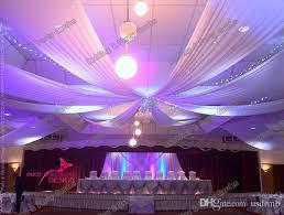Chiffon Ceiling Draping 12m X 1 4m Piece Banquet Mediterranean Style Ceiling Drape Canopy