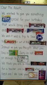 birthday card ideas for your teacher birthday decoration