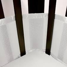breathable baby mesh crib liner white tjskids com vancouver baby