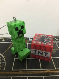 make minecraft tree ornaments from figures jason s web site