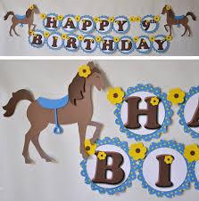 Horse Birthday Decorations Best 25 Horse Party Decorations Ideas On Pinterest Horse Theme