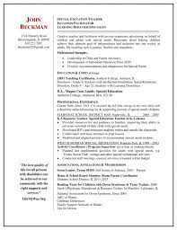 Teacher Resume Experience Examples by Awesome Teacher Resume Examples 2013 Resume Format Web