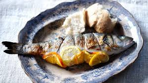 fish cuisine food recipes fennel and herb barbecued whole fish