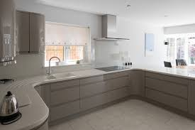 fitted kitchen ideas timbercraft fitted kitchen remo in grey real customer