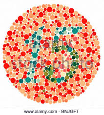 Red Orange Color Blind Test Color Blindness Armed Forces Color Vision Test Pseudo Isochromatic