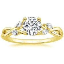 gold engagement rings yellow gold engagement rings brilliant earth