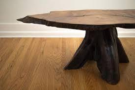 Slab Coffee Table by Vintage Live Edge Slab Coffee Table Homestead Seattle