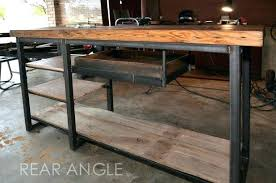 Custom Made Office Desks Industrial Chic Desk Medium Image For Charming Custom Made