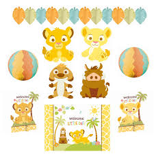 lion king baby shower supplies lion king baby shower includes 4 cutouts 10 1 cutout 14
