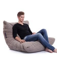 grey bean bag chair interior bean bags acoustic sofa in eco weave bean bags australia
