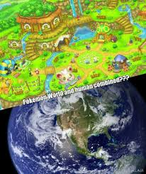 Map Of Pokemon World by Pokemon Mystery Dungeon And Main Series Theory Human World And