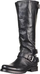 frye boots black friday amazon com frye women u0027s veronica back zip boot knee high