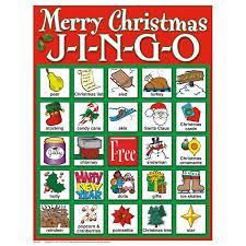 merry christmas bingo game decorating ideas