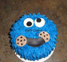 cookie monster birthday cake cakecentral com