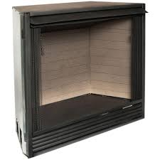 ventless gas firebox insert