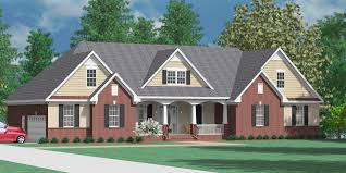 one story house southern heritage home designs house plan 3420 a the clayton a