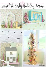 Girls Room Decoration My Sweet U0027s Room Decorated For Christmas House By Hoff