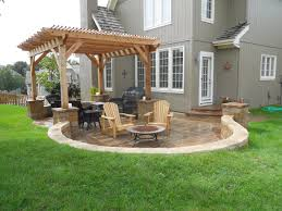 Charming Simple Backyard Patio Designs Including Design Ideas Best - Simple backyard patio designs