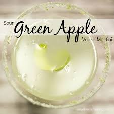 sour apple martini sour green apple vodka martini