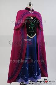 Princess Anna Halloween Costume Frozen Princess Anna Costume Cloak Cosplay Frozen