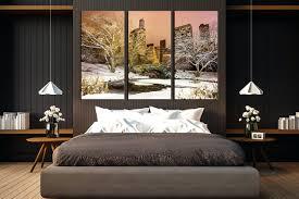 Skyline Wallpaper Bedroom Wall Arts City Skyline Canvas Wall Art Chicago Skyline Canvas
