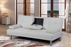 white leather 2 seater sofa cheap cinema manhattan faux leather sofa bed sofabed with cup