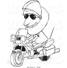 cartoon motorcycle drawings on motorcycle coloring pages for kids