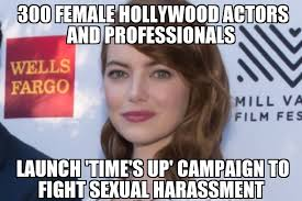 Sexual Harrassment Meme - hollywood women launch caign to fight sexual harassment memenews