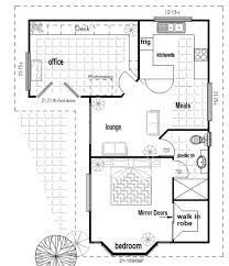 australian house floor plans l shaped granny flat with office