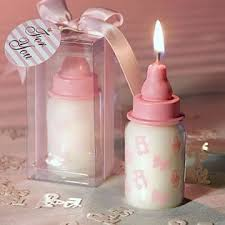 candle favors pink baby bottle candle favors 1 kitchen dining