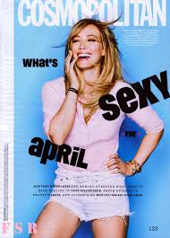 cosmopolitan hilary duff looks gorgeous in april 2015 issue of u0027cosmopolitan