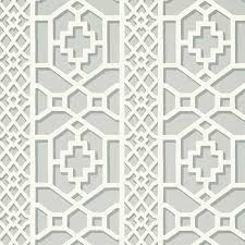 5006942 zanzibar trellis winter mint schumacher wallpapers