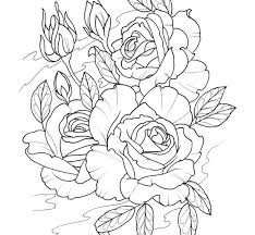 tattoo coloring sheets tattoo coloring pages roses coloringstar