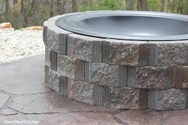 How To Build A Backyard Firepit by How To Build A Patio Firepit How To Nest For Less