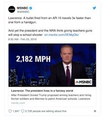 msnbc lawrence o donnell desks msnbc s lawrence o donnell handgun bullets too slow to stop a spree