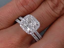 cushion diamond ring wedding rings cushion cut 215 ctw cushion cut diamond wedding ring
