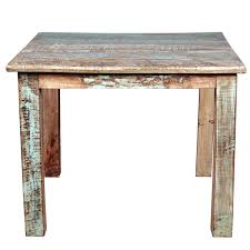 Barn Wood Sofa Table by Reclaimed Wood Distressed Small Kitchen Dining Table