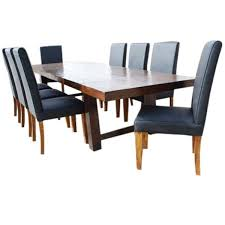 13 pc transitional dining table and chair set for 12 people