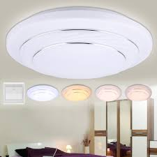 24w dimmable round led ceiling light 4 mode 4000 lumens home