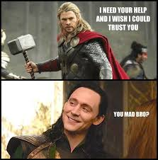 Funny Thor Memes - loki vs thor funny google search marvel comics pinterest