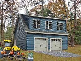 buy a prefab garage with apartment space from the amish in pa