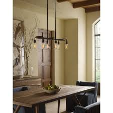 ilot de cuisine antique suspendu rectangle bronze antique avec accent de or idéal pour