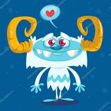 imagenes animadas sobre amor feliz bigfoot de dibujos animados en el amor carácter de yeti