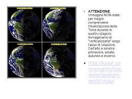 Daylight World Map by La Posizione Di Un Luogo Sulla Terra Sistemi Di Riferimento Ppt