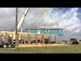 Homes On Pilings Modular Homes On Stilts John Dierlam Palm Harbor Villages Youtube