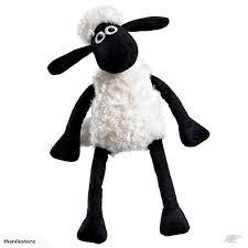 shaun sheep shaun sitting plush medium trade