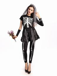 Baroque Halloween Costumes Compare Prices Halloween Costumes Skeleton Woman