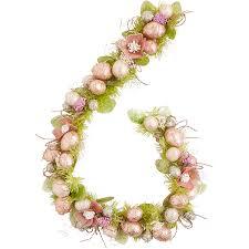 capiz egg garland easter decor decor u003e wreaths u0026 garlands
